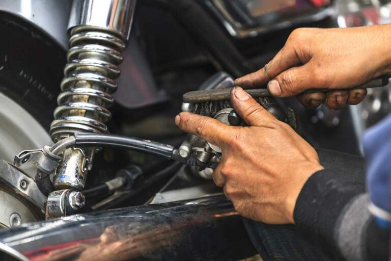 Motorcycle repair in Chandler